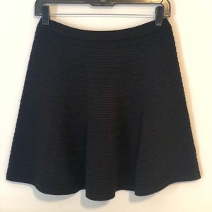 Theory Textured A-line Skirt